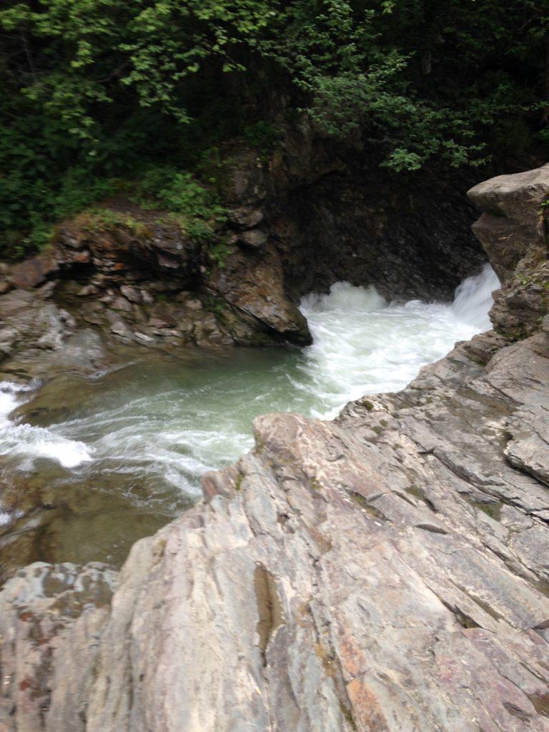 Sheshory - large waterfall